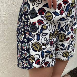 Anthropologie Shorts - Anthropologie Blossomed Sailor Shorts By Cartonnie